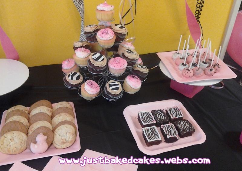 Dessert Table for  baby Shower