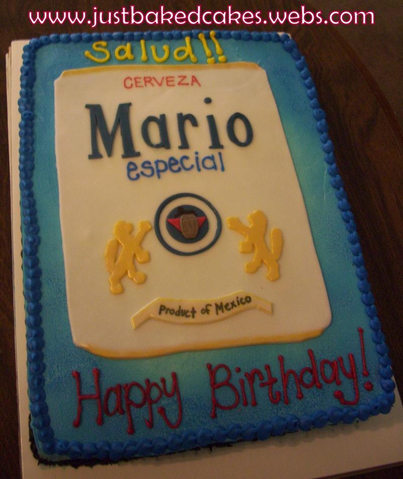 Modelo Beer Birthday Cakes