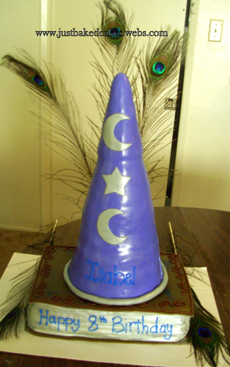 Wizrds Of Waverly Place Themed Cake Wizard Hat And Magic